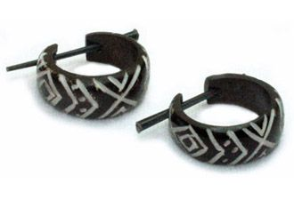 Horn Earring Design Inka
